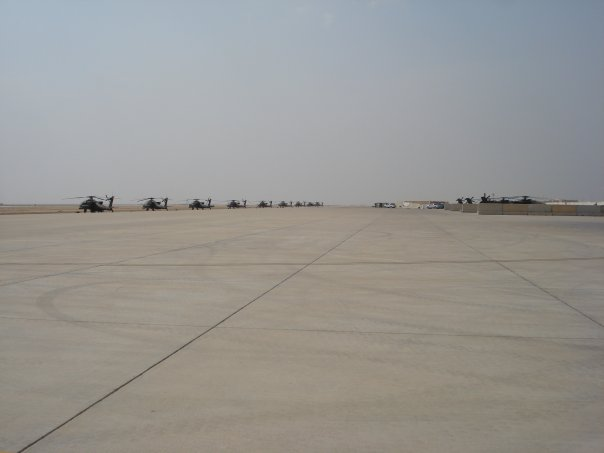 Basrah Airport Apaches