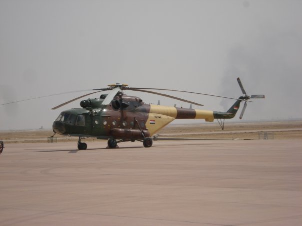 Iraqi helicopter