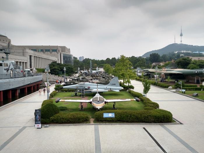 Korean War Museum Aircraft