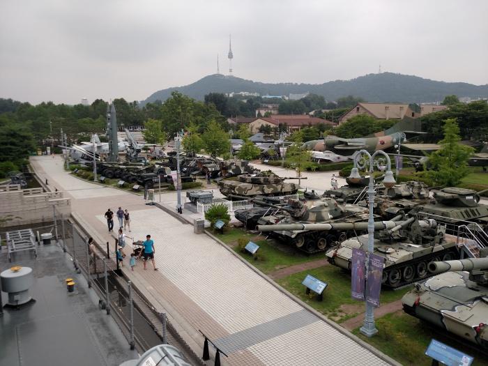 Korean War Museum Equipment