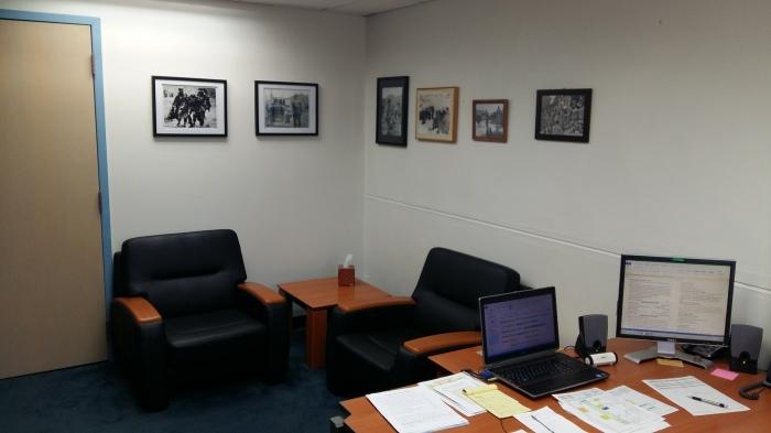 Brigade UMT office-seating