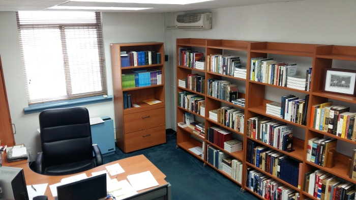 Brigade UMT office-library