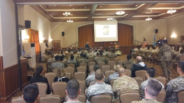 The battalion chaplain shares a message of hope.
