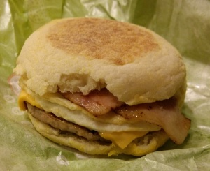 Lotteria Breakfast Sandwich
