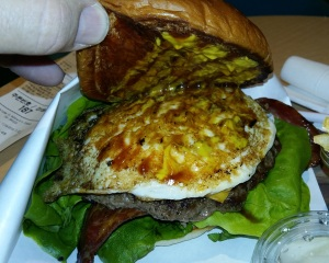 McDonald's Golden Egg Cheesburger