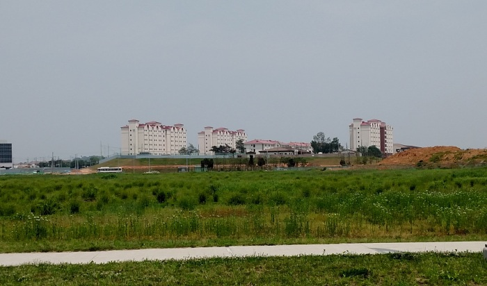 Camp Humphreys High Rise Barracks