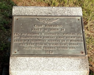 Humphreys-CW2-Humphreys Memorial Plaque-cropped