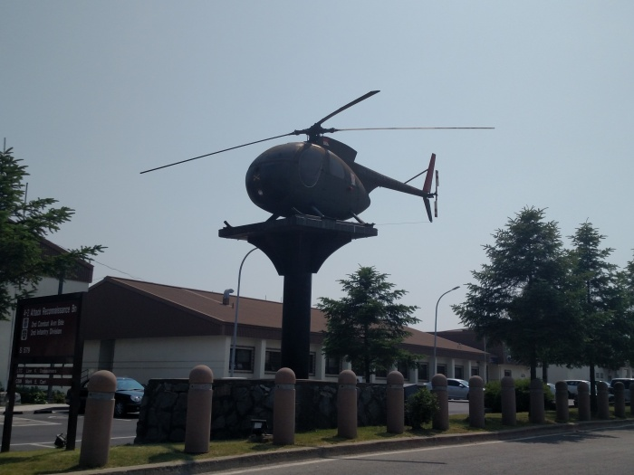 Camp Humphreys helicopter
