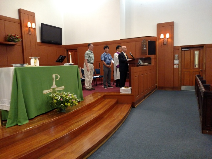 Yongsan Traditional Protestant Service