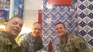 Me, Sean and Jorge at Mr. Kabab