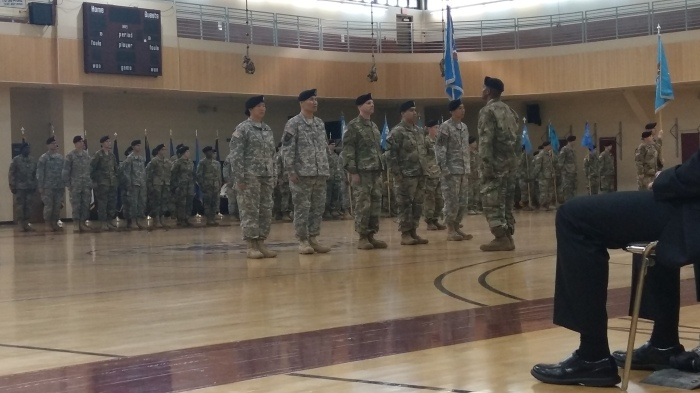 501st MI BDE Change of Command