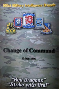 501st Change of Command